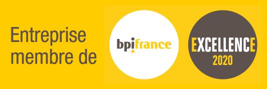 Le Groupe Dubois est membre bpiFrance Excellence 2020