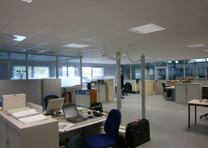 Bureaux sur site industriel