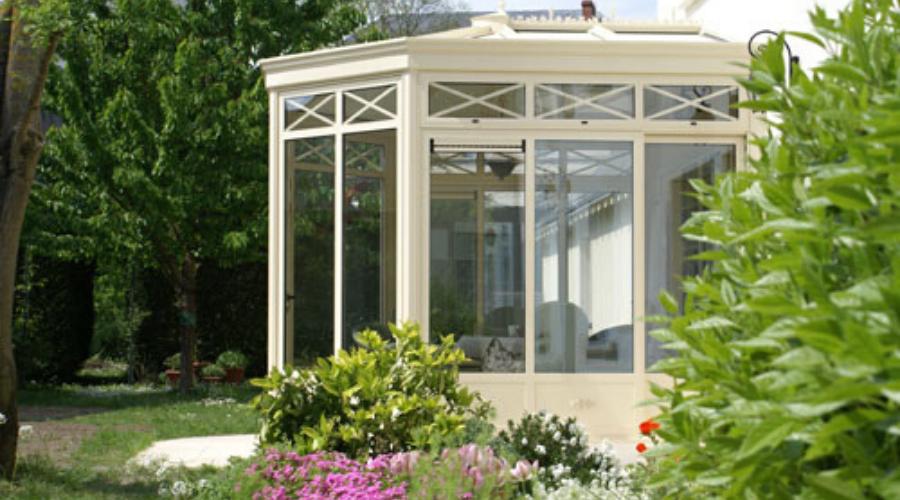 veranda vue jardin